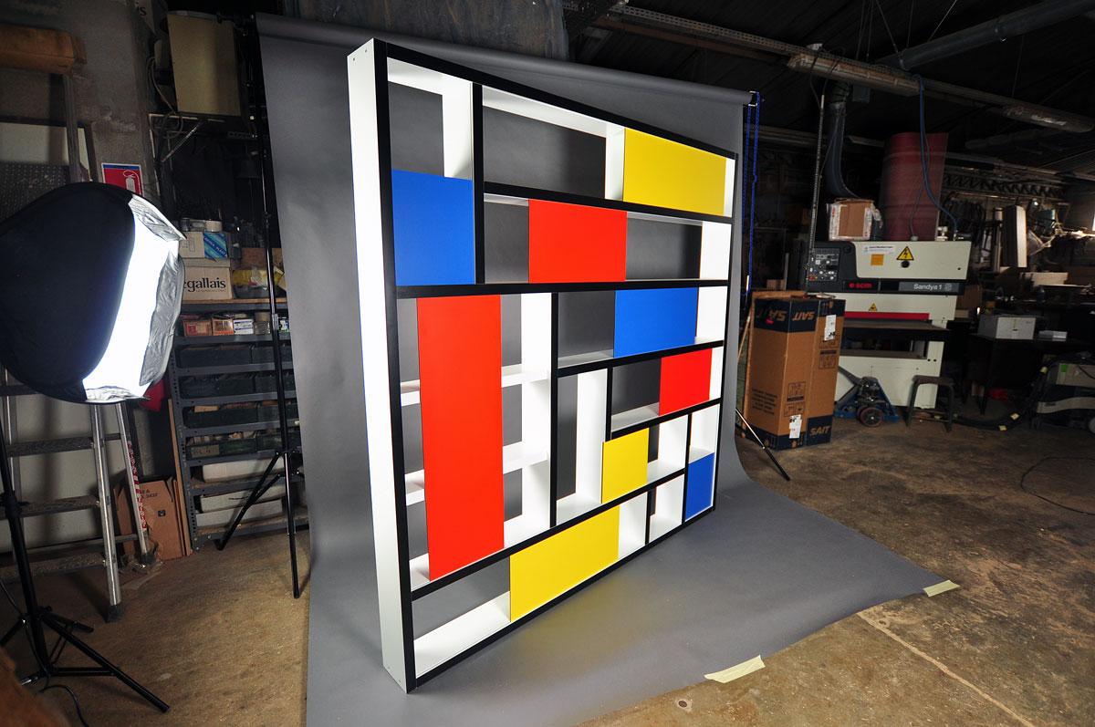 Biblioth Que Mondrian Arabesques B Nisterie Restauration